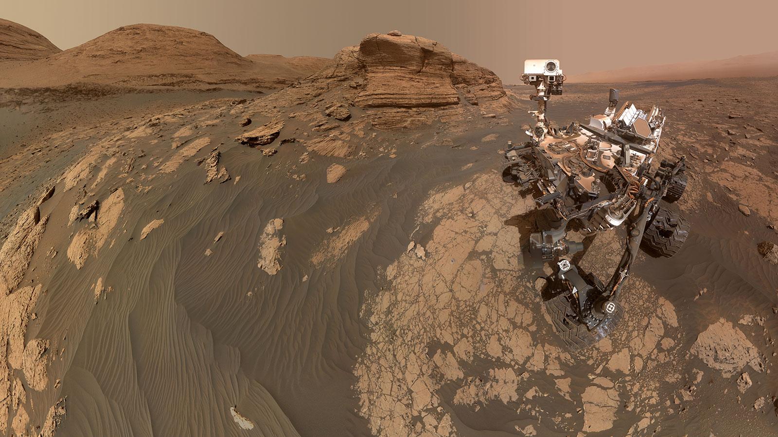 NASA's Curiosity rover on Mars